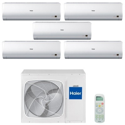 Мульти сплит система Haier AS07BS4HRAx3+AS12BS4HRA+AS24BS4HRA / 5U45LS1ERA
